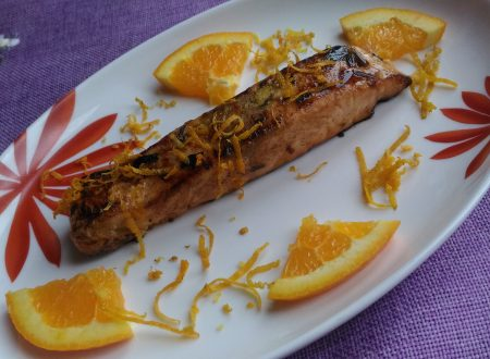 Salmone con agrumi e miele!!!