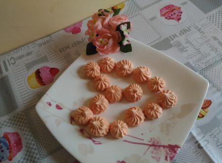 Meringhe alla fragola e all'arancia!!!