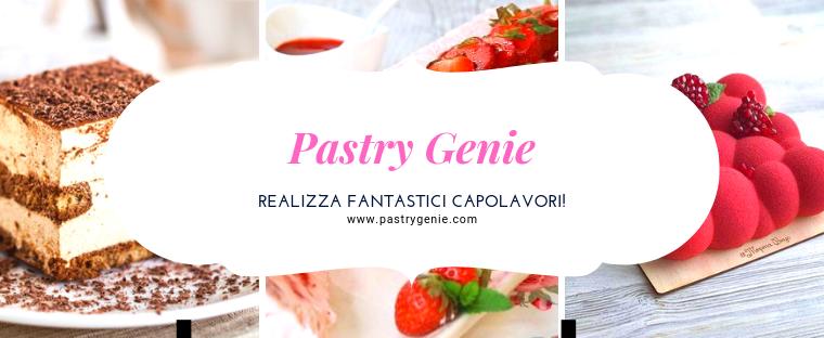 Pastry Genie, l'arte in pasticceria!!!