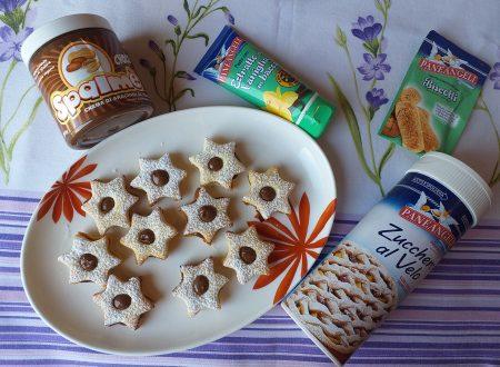 Stelline con crema di arachidi al cacao!!!