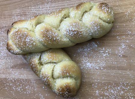 Treccine di pan brioche al miele!!!