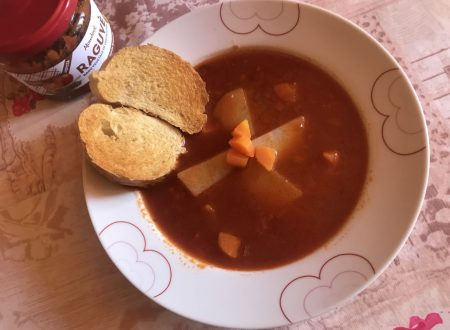 Zuppa di lenticchie e verdurine!!!