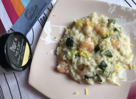 Risotto alle zucchine, gamberetti e limone!!!