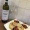 Pesce spada con pomodorini e olive!!!